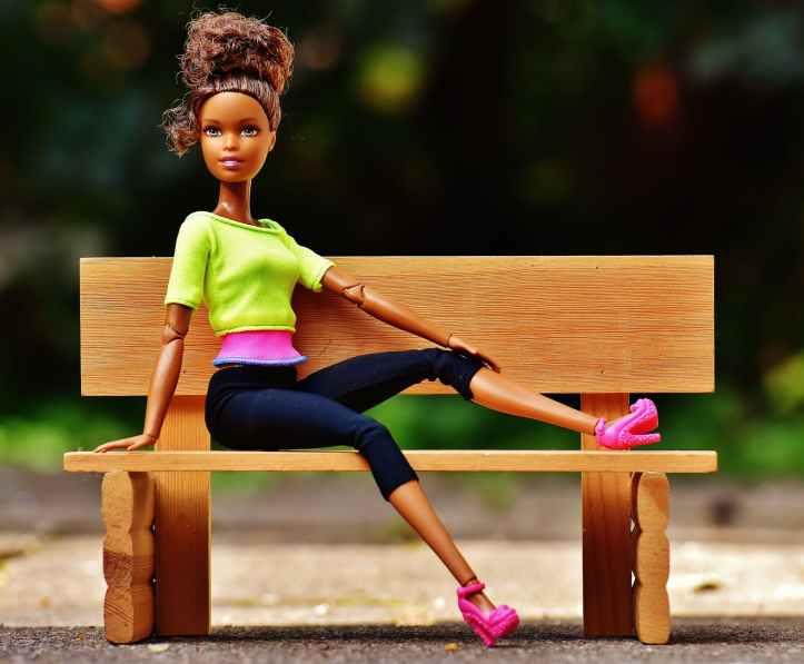 barbie beautiful beauty bench